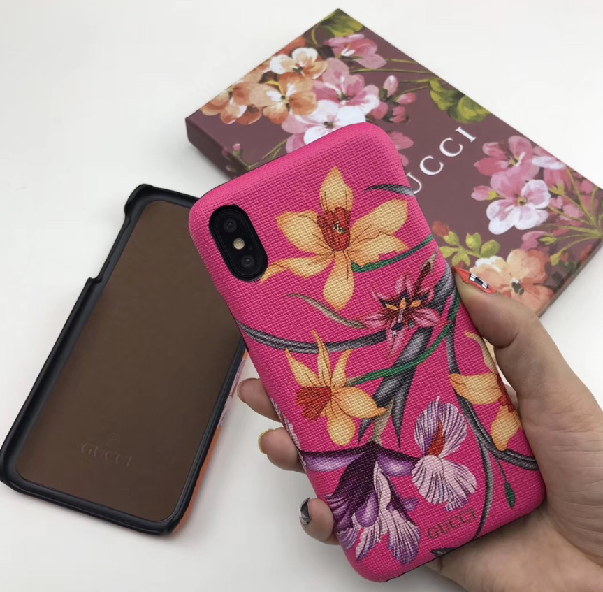 Luxury Italy Gucci Flower GG GC Cover Case For Apple Iphone 11 Pro Max X Xr Xs 6 7 8