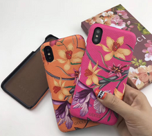 Load image into Gallery viewer, Luxury Italy Gucci Flower GG GC Cover Case For Apple Iphone 11 Pro Max X Xr Xs 6 7 8