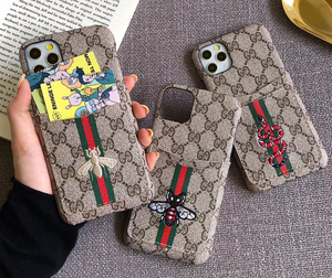 Luxury Italy Gucci GG GC Bee Tiger Snake Cover Case For Apple Iphone 11 Pro Max 6 7 8