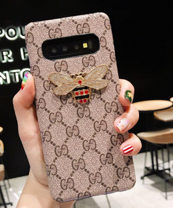 Luxury Italy Gucci Tiger Bee Snake GC GG Case For Samsung Galaxy S10 S9 S8