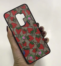 Load image into Gallery viewer, Luxury Italy Gucci GG GC Strawberry Cover Case For Samsung Galaxy S8 S9 S10