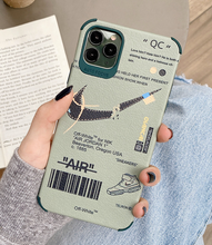 Load image into Gallery viewer, Luxury Off White Nike Air Jordan Case For Apple Iphone 11 Pro Max SE X Xr Xs 7 8