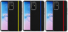 Load image into Gallery viewer, Shockproof Armor Carbon Cover Case For Samsung Galaxy S20 Ultra S10 S9 S8