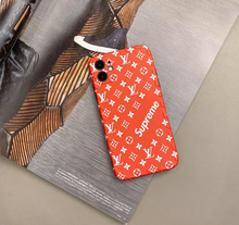 Load image into Gallery viewer, Supreme Louis Vuitton Paris France Case For Apple Iphone 11 Pro Max SE Xr Xs X 7 8