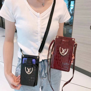 Universal Louis Vuitton Wallet Bag HandBag Case For Iphone 12 Samsung Huawei Xiaomi Oppo Vivo Realme OnePlus