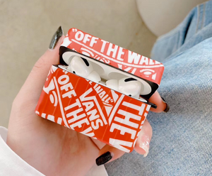 Vans Off The Wall Protective Cover Case For Apple Airpods 1 2 Airpods Pro 3