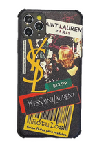 Load image into Gallery viewer, YSL Yves Saint Laurent Balenciaga Case Apple Iphone 11 Pro Max X Xr Xs 7 8