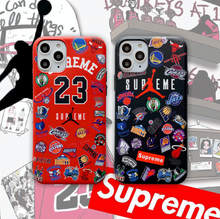 Load image into Gallery viewer, Jordan 23 Flyman Air Jordan Supreme NBA Cover Case For Apple Iphone 11 Pro Max X Xr Xs 6 7 8