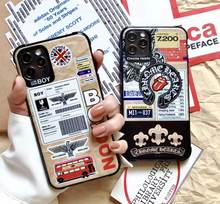 Load image into Gallery viewer, Boys London England Chrome Hearts Case For Apple Iphone 12 Pro Max Mini 11 7 8 X Xr Xs