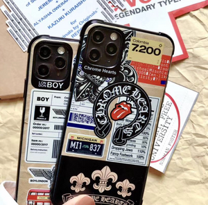 Boys London England Chrome Hearts Case For Apple Iphone 12 Pro Max Mini 11 7 8 X Xr Xs