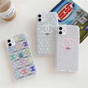 Luxury France Paris Chanel Coco CC Case For Apple Iphone 12 Pro Max X Xr Xs 11 7 8