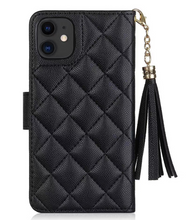 Load image into Gallery viewer, Luxury Chanel Wallet Flip Cover Case For Apple Iphone 12 Pro Max Mini 11 SE 7 8 X Xr Xs