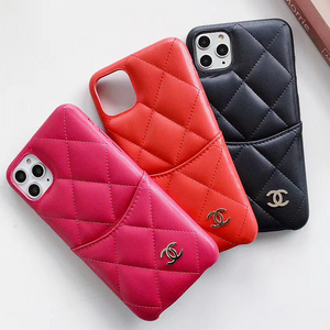 Paris Chanel Coco CC Case For Apple Iphone 12 Pro Max Mini 11 SE X Xr Xs 7 8