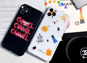 Luxury France Paris Chanel Coco CC Cover Case For Apple Iphone 11 Pro Max SE X Xr Xs 6 7 8