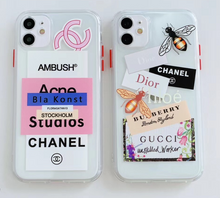 Load image into Gallery viewer, Chanel Gucci Burberry Dior Ambush Case Iphone 12 Pro Max Mini 11 SE Xr Xs 7 8