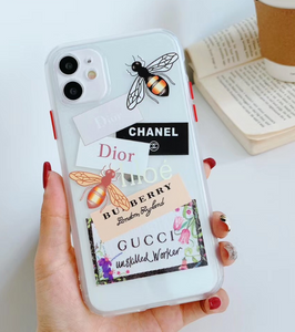 Chanel Gucci Burberry Dior Ambush Case Iphone 12 Pro Max Mini 11 SE Xr Xs 7 8