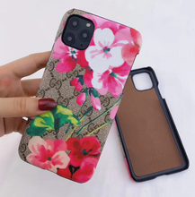 Load image into Gallery viewer, Luxury Italy Gucci Flower GG GC Case For Apple Iphone 11 Pro Max X Xr Xs 6 7 8