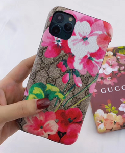 Luxury Italy Gucci Flower GG GC Case For Apple Iphone 11 Pro Max X Xr Xs 6 7 8