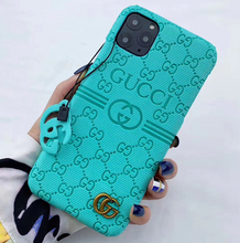 Load image into Gallery viewer, Luxury Italy Gucci GC GG Coque Cover Case For Apple Iphone 11 Pro Max Xr Xs X 6 7 8
