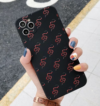 Load image into Gallery viewer, Luxury Italy Gucci Snake Cover Case For Apple Iphone 11 Pro Max X Xr Xs 6 7 8