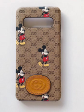 Load image into Gallery viewer, Luxury Italy Gucci GG GC Mickey Case For Samsung Galaxy S20 S20 Ultra S10 Note 10