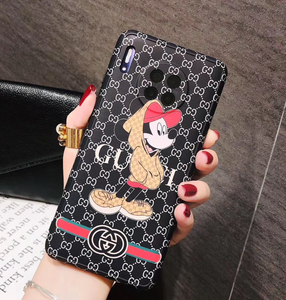 Luxury Italy Gucci GG Mickey Disney Case For Huawei P30 P40 Pro Mate 30