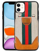 Load image into Gallery viewer, Luxury Italy Gucci Wallet Hand Bag Cover Case For Apple Iphone 11 Pro Max SE Xr Xs X 6 7 8