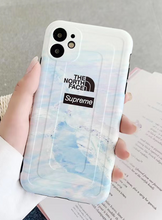 Load image into Gallery viewer, Luxury Supreme Japan The North Face Cover Case For Apple Iphone 11 Pro Max SE X Xr Xs 6 7 8