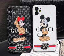 Load image into Gallery viewer, Luxury Italy Gucci Mickey GG GC Case For Apple Iphone 11 Pro Max SE X Xr Xs 7 8