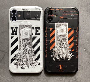 Luxury Italy Milan Off White Case For Apple Iphone 11 Pro Max SE X Xr Xs 7 8