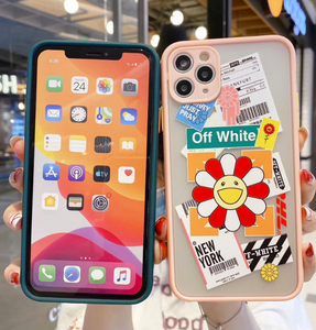 Luxury Off White Murakami Case For Apple Iphone 11 Pro Max SE X Xr Xs 7 8