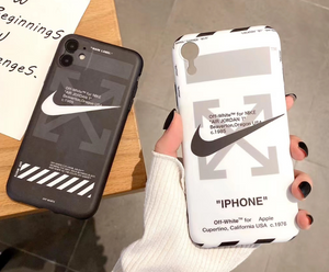 Luxury Off White Nike Air Jordan Case For Apple Iphone 11 Pro Max SE X Xr Xs 7 8