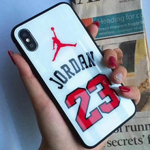 Load image into Gallery viewer, Jordan 23 Flyman Basketball NBA Cover Case For Apple Iphone 11 Pro Max 6 7 8 X Xr Xs