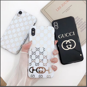 Luxury Italy Gucci GC GG Cover Case For Apple Iphone 11 Pro Max Xr Xs 6 7 8