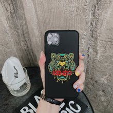 Load image into Gallery viewer, France Paris Kenzo Tiger Cover Case For Apple Iphone 12 Pro Max Mini X Xr Xs 6 7 8