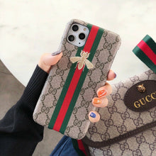 Load image into Gallery viewer, Luxury Italy Gucci GG GC Bee Snake Cover Case For Apple Iphone 11 Pro max X Xr Xs 6 7 8