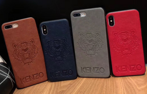 Luxury France Kenzo Tiger Case For Apple Iphone 11 Pro Max X Xr Xs 6 7 8