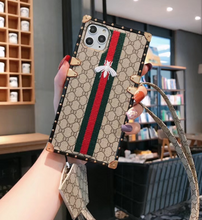 Load image into Gallery viewer, Luxury Italy Gucci GG GC Bee Cover Case For Apple Iphone 11 Pro Max X Xr Xs 6 7 8