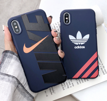 Load image into Gallery viewer, Luxury Sport Nike Adidas Coque Cover Case For Apple Iphone 11 Pro Max X Xr Xs 6 7 8