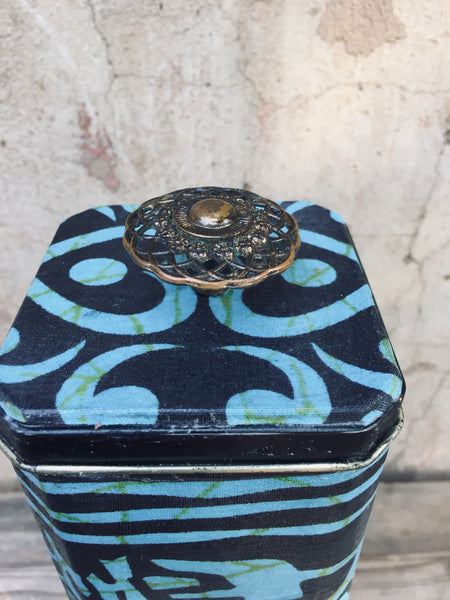 Decor Tin-Azul-Large