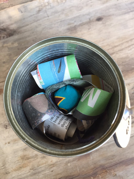 Scented Wood Tins - Rosa