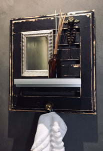 Decorative Bathroom Shelving Unit (1)