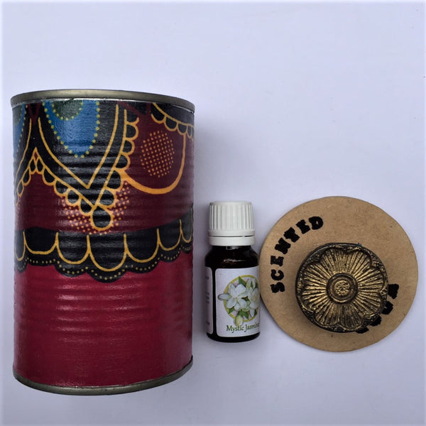 Scented Wood Tins - Roxa