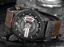 Load image into Gallery viewer, CURREN -Military Sports Watch Leather