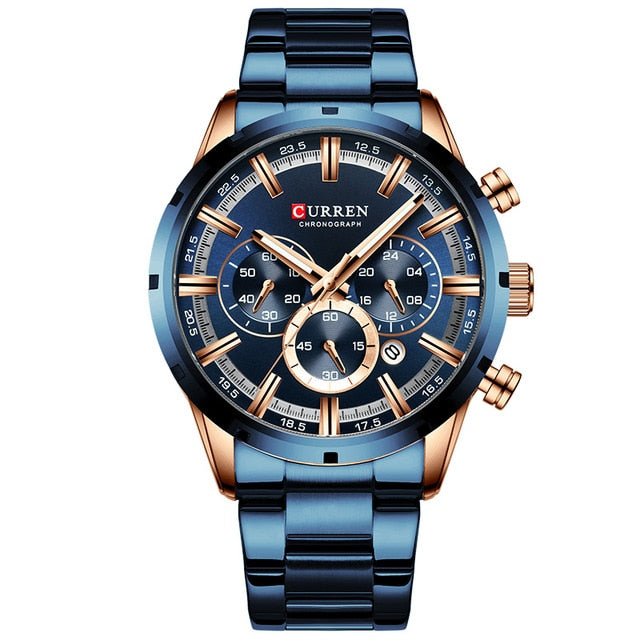 CURREN  Chronograph Wristwatch