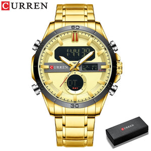 CURREN Gold Sport