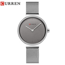 Load image into Gallery viewer, CURREN  Stainless Steel Quartz