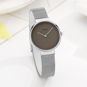 CURREN  Stainless Steel Quartz