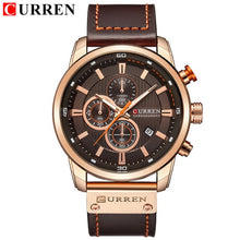 Load image into Gallery viewer, CURREN Rose Gold Sports Chronograph