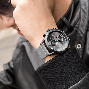 CURREN  Chronograph Quartz Watch